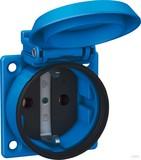 ABL Sursum Einbau-Steckdose blau, IP54 1561050 (20 Stück)