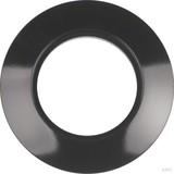 Berker Ringplatte 1-fach schwarz 138101