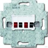Busch-Jaeger Lautsprecher-Anschlussdose 2fach, alpinweiß 0248/04-101