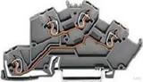 WAGO Etagenklemme 0,08-2,5/4mmq grau 775-642