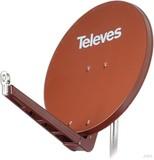 Preisner Televes QSD-Line Offset Reflektor 85x95cm Ral8012 S85QSD-Z
