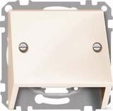 Merten Schrägauslass ws/glänzend für Datenanschluss 464944