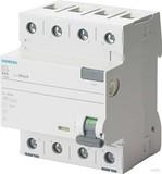 Siemens FI-Schutzschalter 40A,3+N,30mA,400V 5SV3344-3