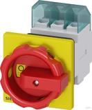 Siemens Haupt-/Not-Aus-Schalter 3p. 25A 9,5kW/400V 3LD2154-0TK53