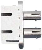 Telegärtner ST/SC-Dupl. Adapter MM+SM Einschn. o Schr. mont. J08082A0007