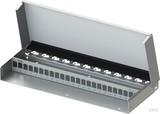 Telegärtner MPD24 Modulträger AP, leer, 1HE, reinweiß (rws) H02025A0260