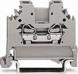 WAGO Durchgangsklemme grau 0,08-2,5qmm 280-101
