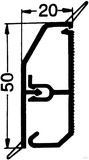 Rehau SL-L Kanal 20/50 cremeweiß (cws) 17338001100 (2 Meter)