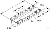 Niedax Montageträger MIMTA 60/625 F