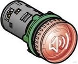 Schneider Electric Harmony Buzzer beleuchtbar rot D22mm 230-240V AC XB5KS2M4