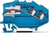 WAGO Trennklemme 0,08-4mmq blau 781-643