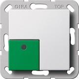 Gira Abstelltaster System 55 Re inweiß 291103