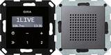 Gira 228028 Unterputz Radio RDS System 55 Anthrazit glänzend
