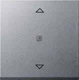 Gira 232826 Aufsatz Jalousie System 55 Farbe Alu