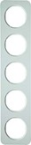 Berker Rahmen pows/glänzend 5fach 10152189