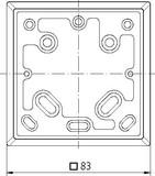 Theben Adapterplatte 9070480