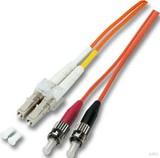 EFB-Elektronik LWL Duplexkabel 2m 2xLC/2xST 50/125 O0321.2