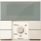 Merten Zeitschaltuhr-Modul weiß glänzend MEG5754-0344