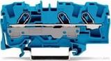 WAGO Durchgangsklemme 0,5-6/10qmm blau, 3L 2006-1304