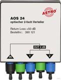 Astro Optischer Verteiler 4dB 2-fach AOS 24