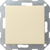 Gira 012601 Tastschalter Wechsel System 55 Cremeweiß glänzend