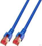 EFB-Elektronik Patchkabel Cat. 6 2xRJ45 mit S/FTP EC6000 0,5m blau S/FTP