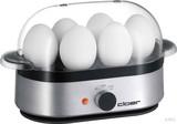 Cloer 6099 Eierkocher 6 Eier alu