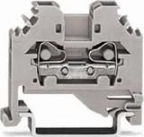 WAGO Durchgangsklemme 0,08-4mmq grau 281-101
