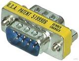 EFB-Elektronik Mini-Gender-Changer DSub 9pol EB410