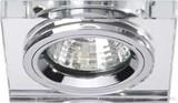 Brumberg Leuchten NV-Einbaudownlight GX5,3/50W chrom/Glas 0283.00