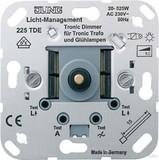 Jung Tronic-Drehdimmer mit Druck-Schalter 225 TDE