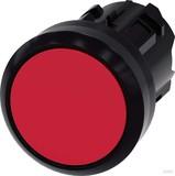 Siemens Drucktaster 22mm, rund, rot 3SU1000-0AB20-0AA0