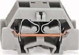 WAGO 4-L. Klemme 2x0,08-2,5mmq grau 261-331