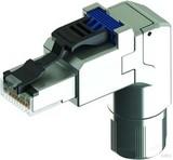 Telegärtner Stecker Cat. 6A gewinkelt MFP8 T568A AWG22-27 J00026A4000
