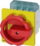 Siemens Haupt-/Not-Aus-Schalter 4p. 16A 7,5kW/400V 3LD2003-1TL53