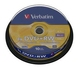 Verbatim DVD+RW 4.7GB/120Min/4x Cakebox (10 Disc)