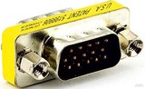 E+P HD-Kompaktadapter 15p. HD St./St. CC829