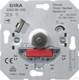 Gira 226200 Dimmer DruckWechsel Niedervolt 20 500VA Einsatz