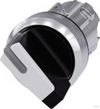 Siemens Knebelschalter schwarz, weiß 3SU1052-2BF60-0AA0