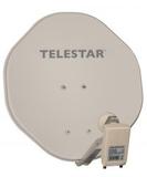 Telestar ALURAPID 45 beige  mit SKYTWIN HC-LNB