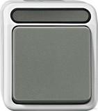 Merten Aus/Wechselschalter 1-polig g, lichtgrau MEG3116-8029