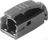 Telegärtner STX Knickschutztülle schwarz H86011A0006 (10 Stück)