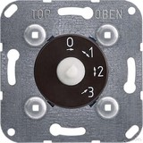 Elso 3-Stufenschalter-Einsatz 10A 1-polig mit Nullst. 121910