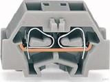 WAGO 4-L. Klemme 2x0,08-1,5mmq grau 260-331