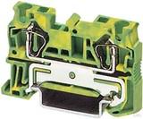 Phoenix Contact Zugfederklemme 0,08-6qmm gn-ge ST 4-PE