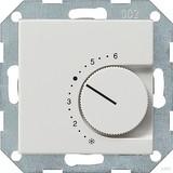 Gira 039103 Raumtemperaturregler 24 V mit Öffner System 55 Reinweiß