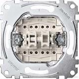 Merten Doppelwechselschalter-Eins 1-polig 10AX 250V AC MEG3126-0000