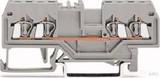 WAGO Durchgangsklemme grau 0,08-1,5qmm 279-831