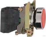 Schneider Electric Drucktaster flach, rt, 1Ö XB4BA42