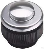 Grothe Klingeltaster rund 11,5mm Knopf alu, Hülse aluminium PROTACT 310 AL (5 Stück)